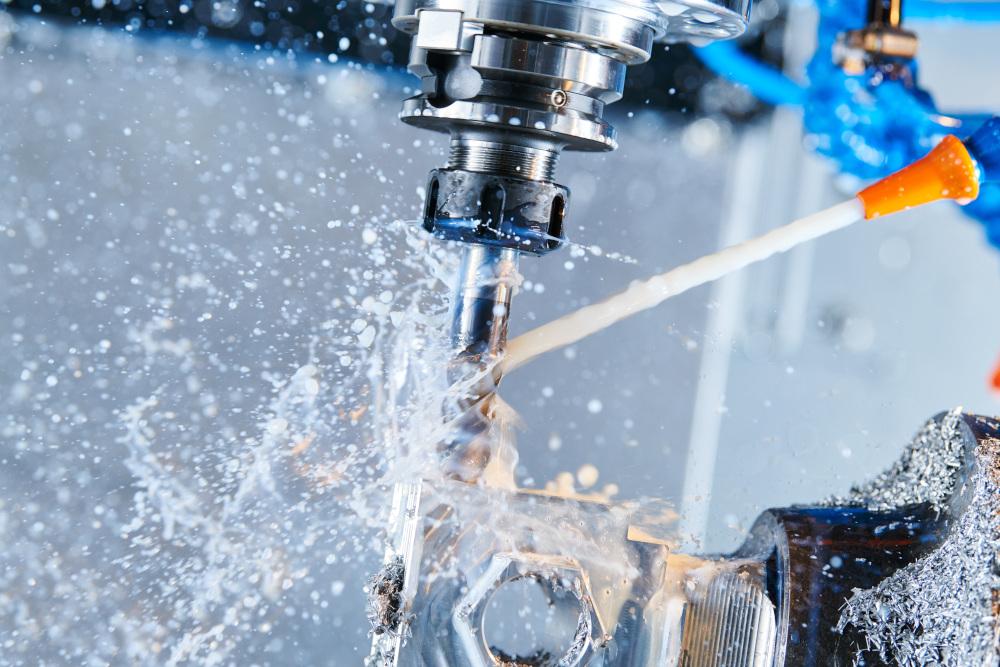 obróbka metali za pomocą wody